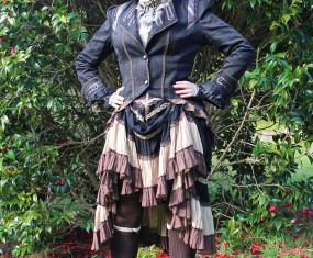 Even oldies can wear steampunk