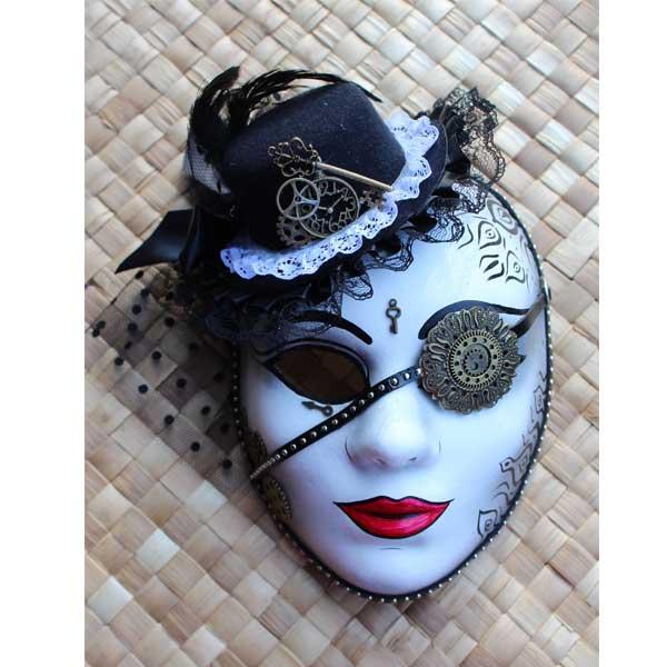 Mini Masquerade Mask Cake Toppers