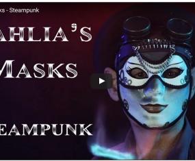Steampunk mask video